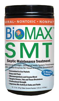 BioMAX SMT - Septic Tank Maintenance Treatment Products